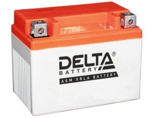 Аккумуляторы мото DELTA