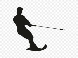 Слаломные водные спортивные лыжи